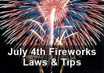 Fireworks Laws and Tips