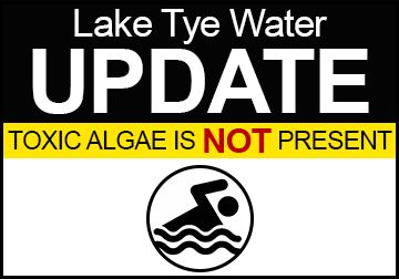 Lake Tye Water Update
